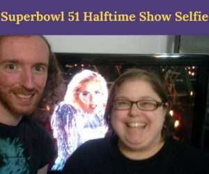 Matty & I pose with Lady Gaga for the Halftime show of Superbowl 51.
