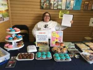 Bake Sale Volunteering and Editing my first book