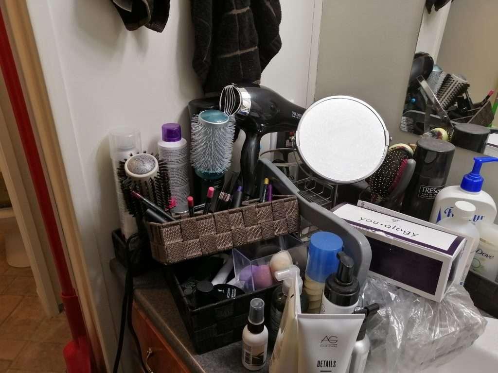 Before the purge. Disorganization.