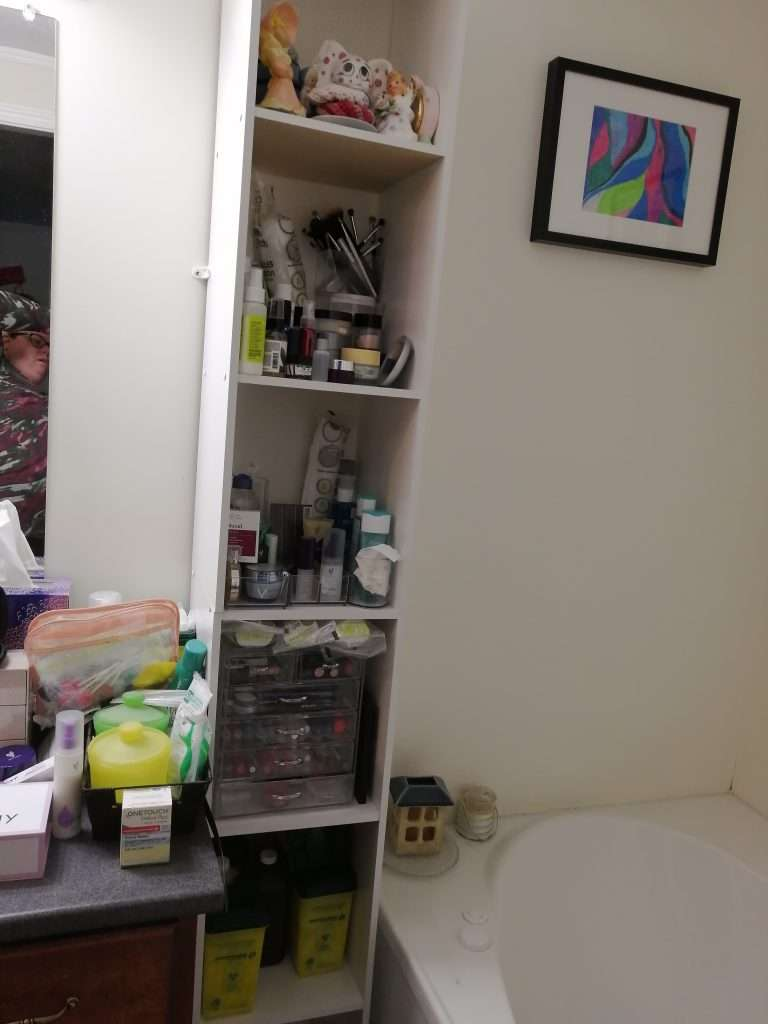 Before the purge. Very disorganized.